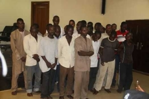 Photos: Nigerian police officers arrested for aiding and abetting crimes in the North-East, Kogi and Lagos States